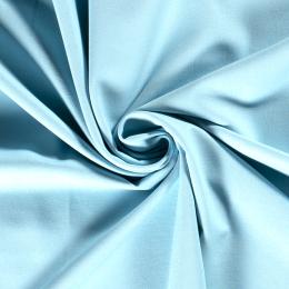 Cotton Linen Blend Fabric | Sky Blue