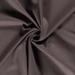 Cotton Linen Blend Fabric | Taupe Grey