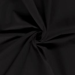 Cotton Linen Blend Fabric | Black