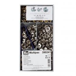 15mm Silver | Outdoor Mini Press Fastener Multipack | Prym