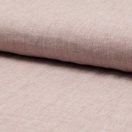Georgio 100% Linen Fabric | Old Pink