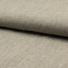 Georgio 100% Linen Fabric | Light Khaki