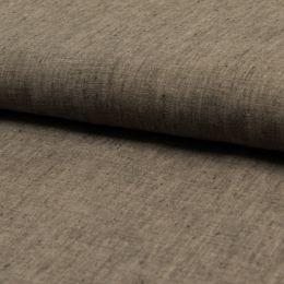 Georgio 100% Linen Fabric | Taupe