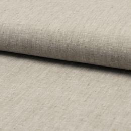 Georgio 100% Linen Fabric | Grey