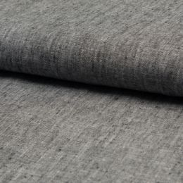 Georgio 100% Linen Fabric | Dark Grey