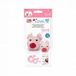 Pom Pom Template, Pig Percy | Prym Love