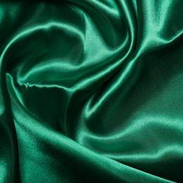 Satin Lining Fabric   Emerald