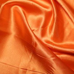 Satin Lining Fabric   Orange